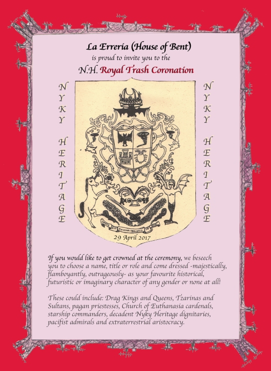 Coronation Invite x FB & Symposium x