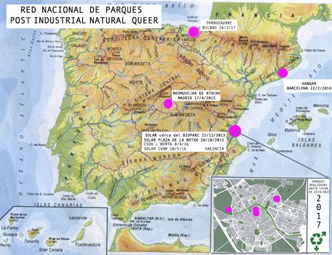RED DE PARQUES PINQ