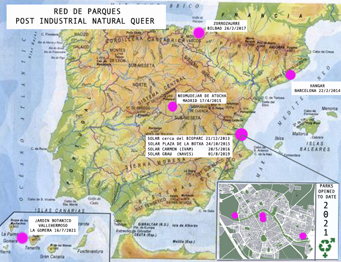 2021 map PINQ parks